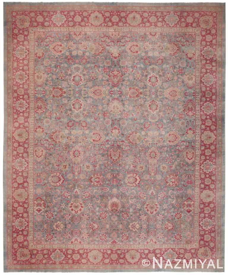 Antique Indian Rug 50024 by Nazmiyal NYC
