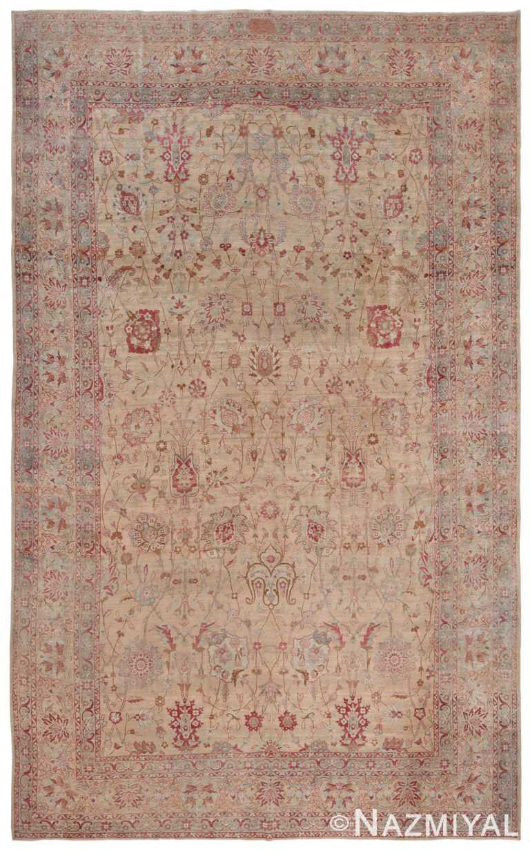Antique Persian Kerman Rug 70375 by Nazmiyal NYC