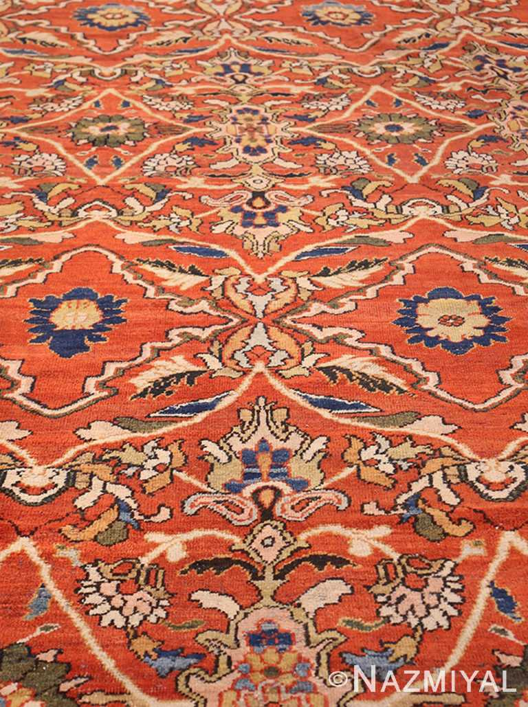 Full View Of Antique Persian Sultanabad Rug 47267 by Nazmiyal NYC