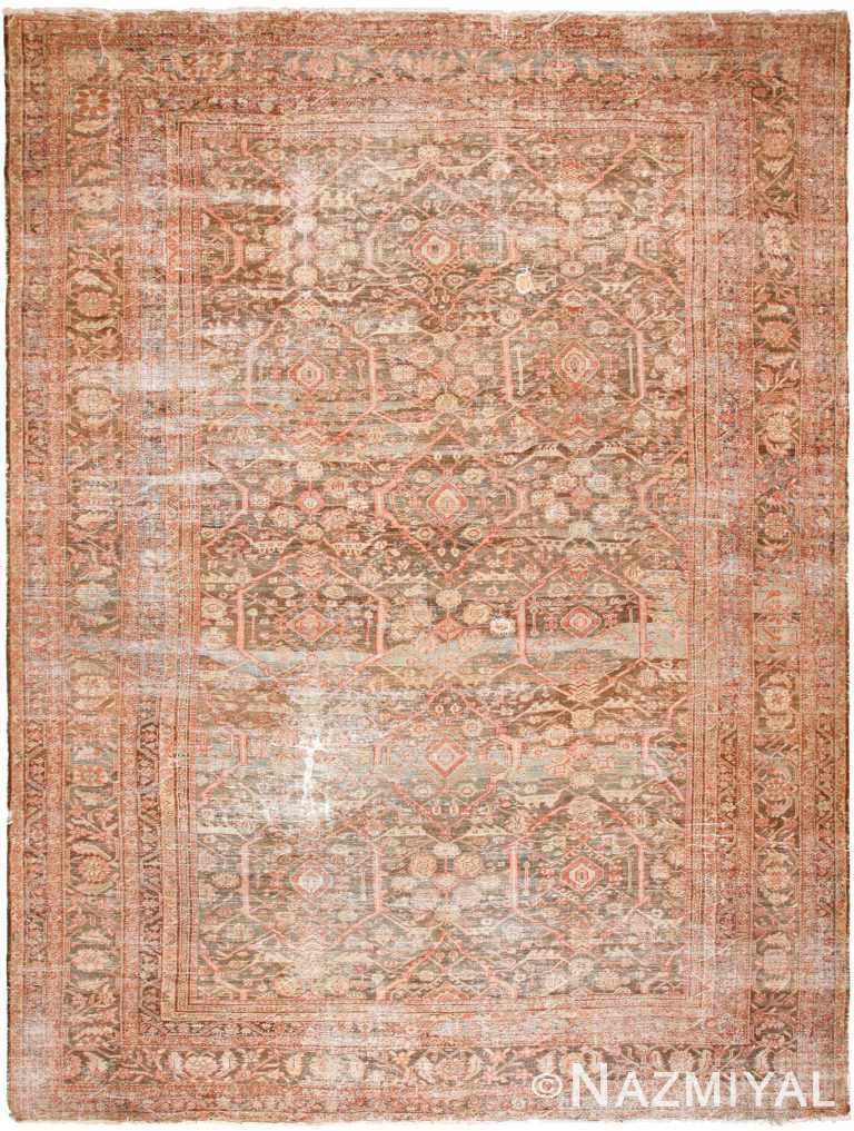 Large Antique Persian Sultanabad Rug 70378 by Nazmiyal NYC