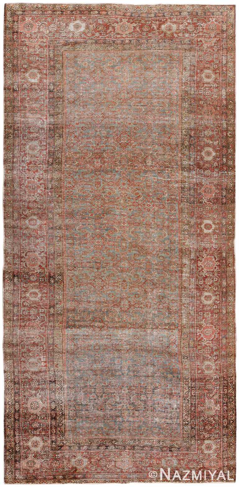 Antique Persian Shabby Chic Area Rug #3054 by Nazmiyal Antique Rugs