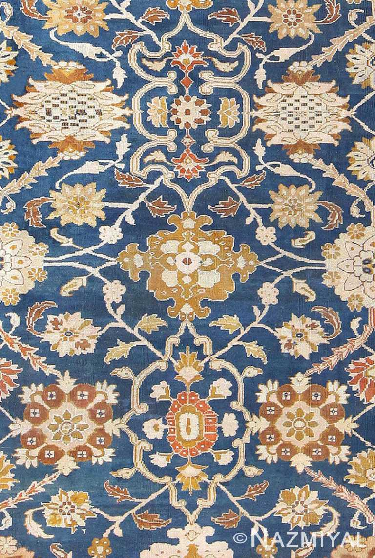 Close Up Antique Persian Sultanabad Carpet by Ziegler 50198 by Nazmiyal NYC