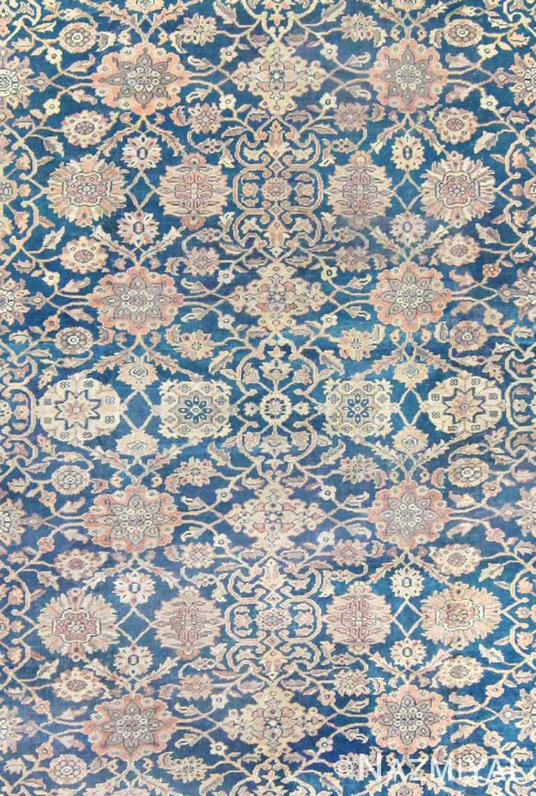 Close Up Antique Persian Sultanabad Rug 50078 by Nazmiyal NYC