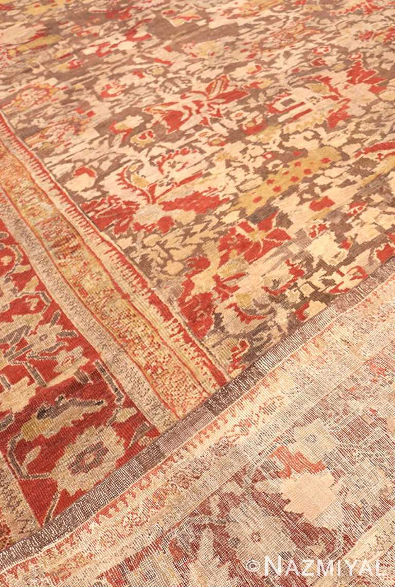 Weave Of Antique Sultanabad rug 42160 by Nazmiyal NYC