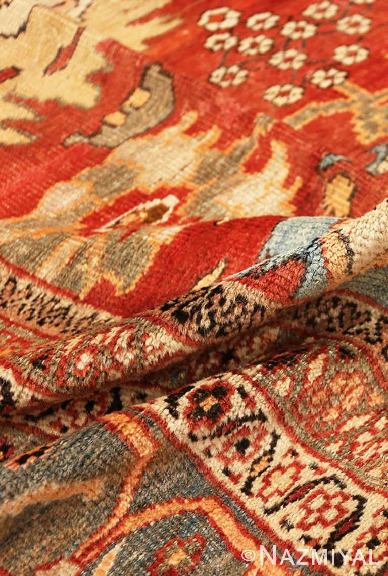 Zoom Pile Of Large Rustic Antique Persian Sultanabad Carpet 70279 from Nazmiyal Antique Rugs in NYC