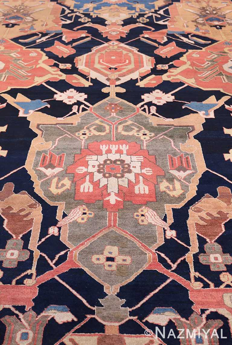 Field Of Antique Persian Petag Tabriz Rug 49750 by Nazmiyal NYC