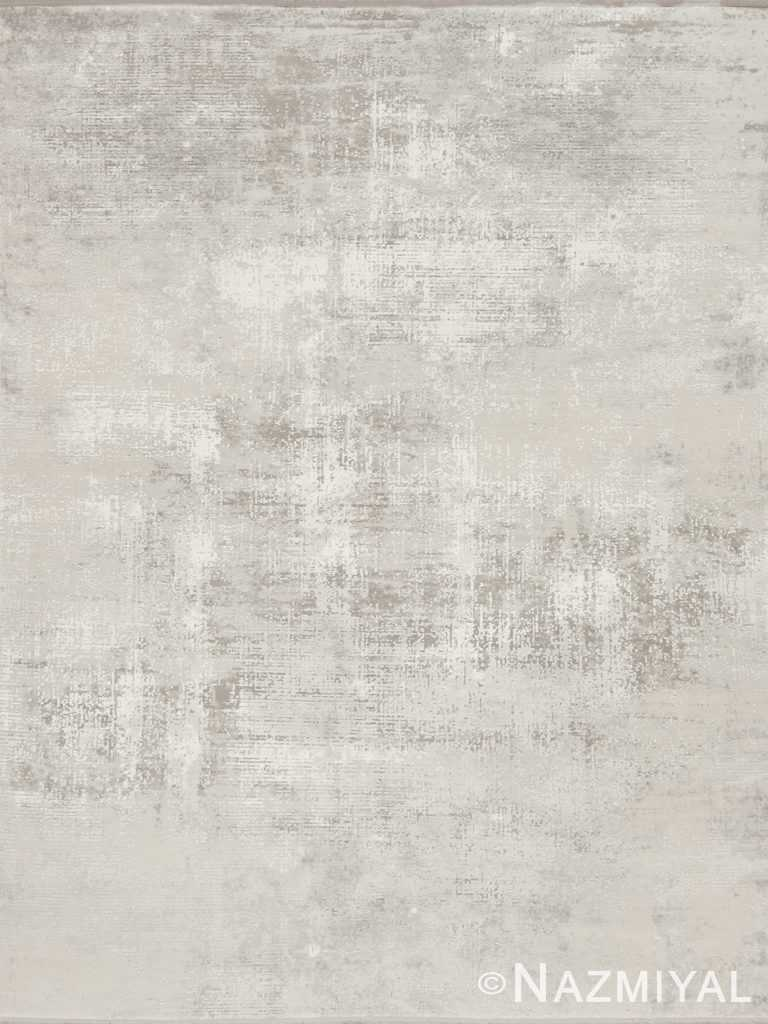 Ivory Grid NYC Rug 91027625 by Nazmiyal NYC