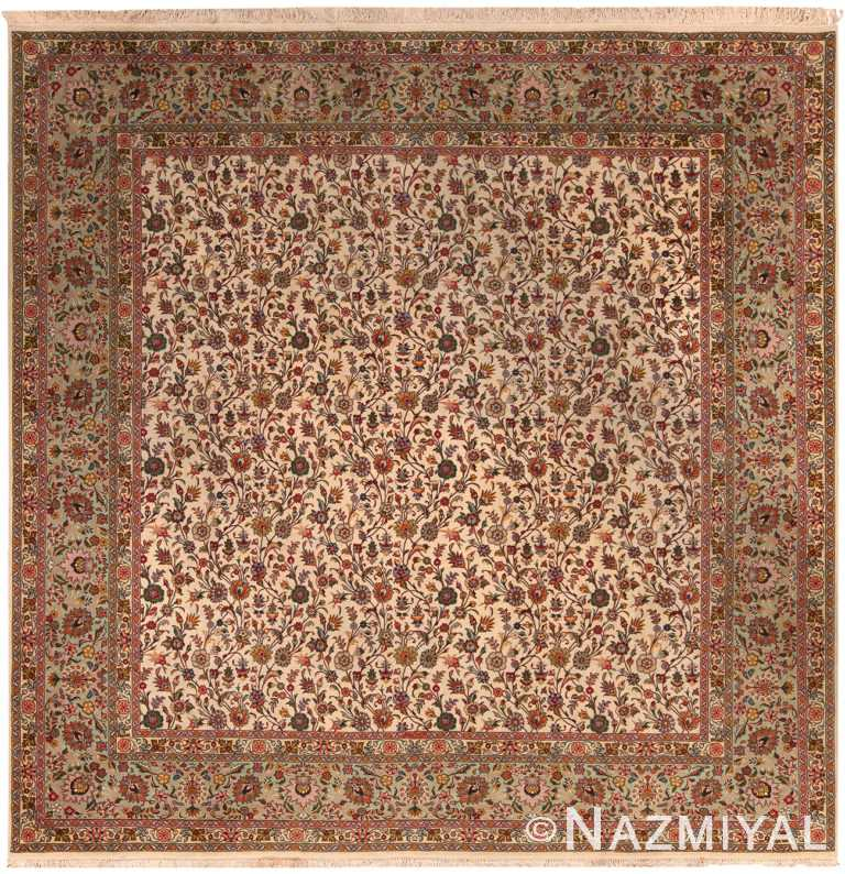 Vintage Persian Tabriz Rug 70259 by Nazmiyal NYC