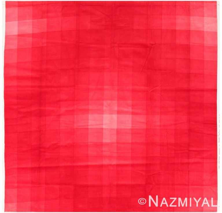 "Vintage Scandinavian Verner Panton ""Checkers II"" Textile 47709 by Nazmiyal NYC"
