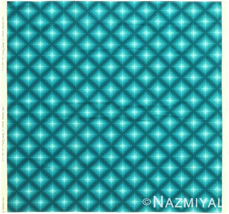 Vintage Scandinavian Verner Panton Checkers II Textile 47829 by Nazmiyal NYC