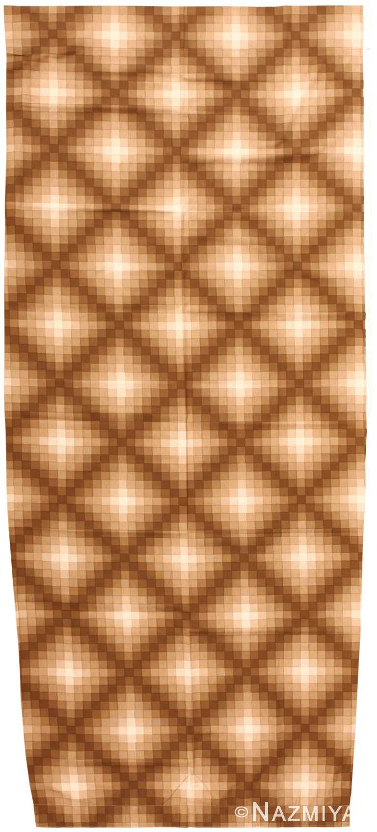 Vintage Scandinavian Verner Panton Checkers II Textile 47838 by Nazmiyal NYC