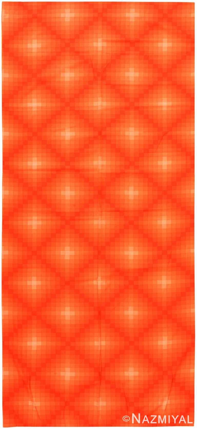 Vintage Scandinavian Verner Panton Checkers II Textile 47855 by Nazmiyal NYC