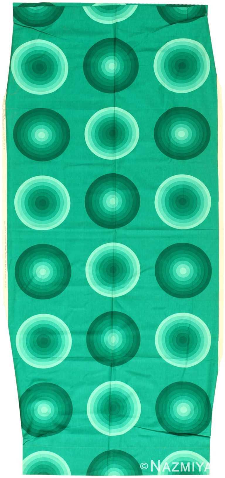 Vintage Scandinavian Verner Panton Kreis Textile 47859 by Nazmiyal NYC