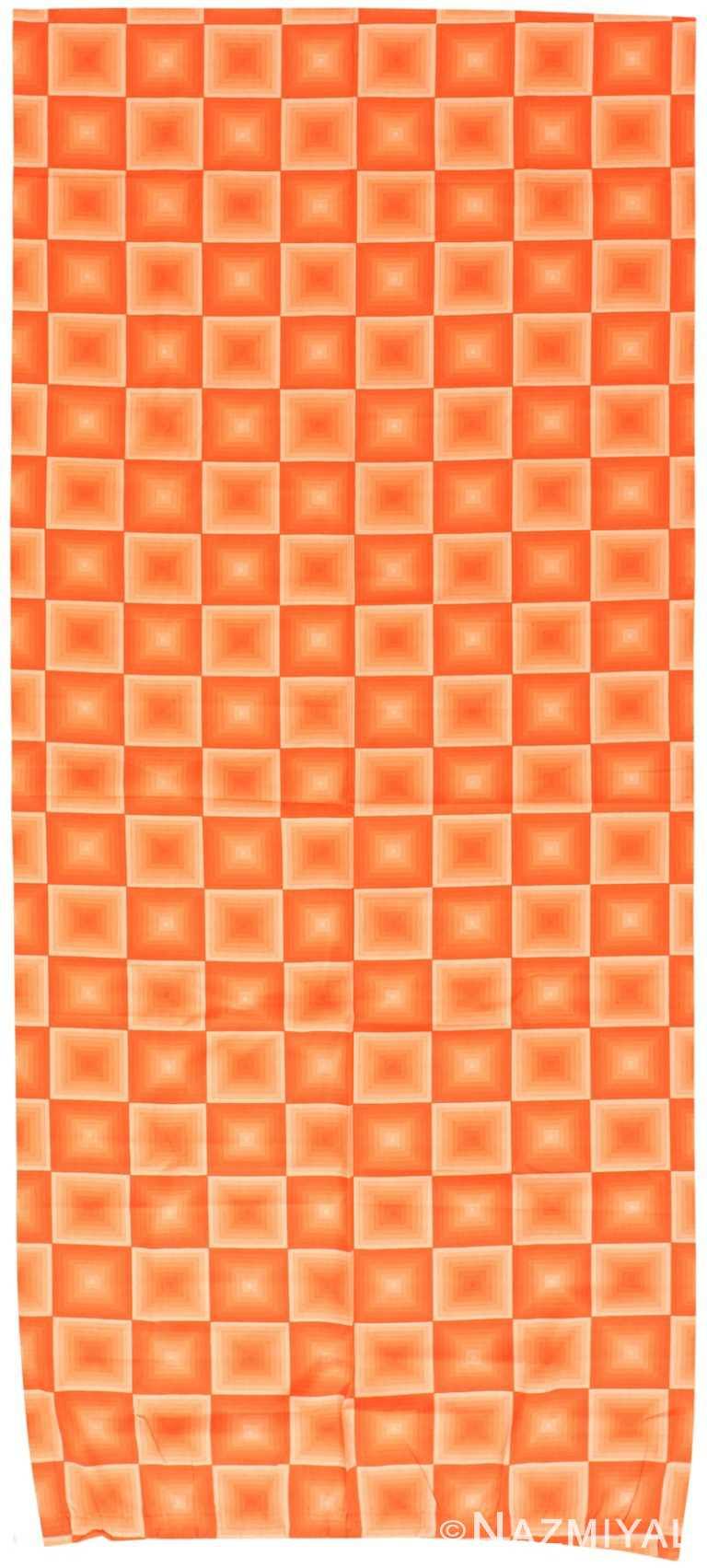 Vintage Scandinavian Verner Panton Quadrat Textile 47857 by Nazmiyal NYC
