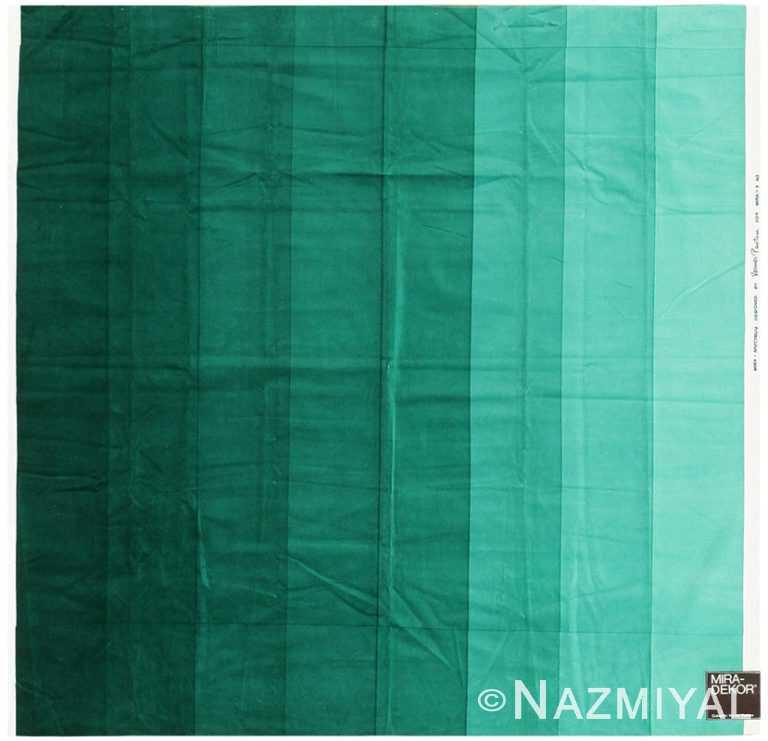 Vintage Scandinavian Verner Panton Gradient Textile 47732 by Nazmiyal NYC