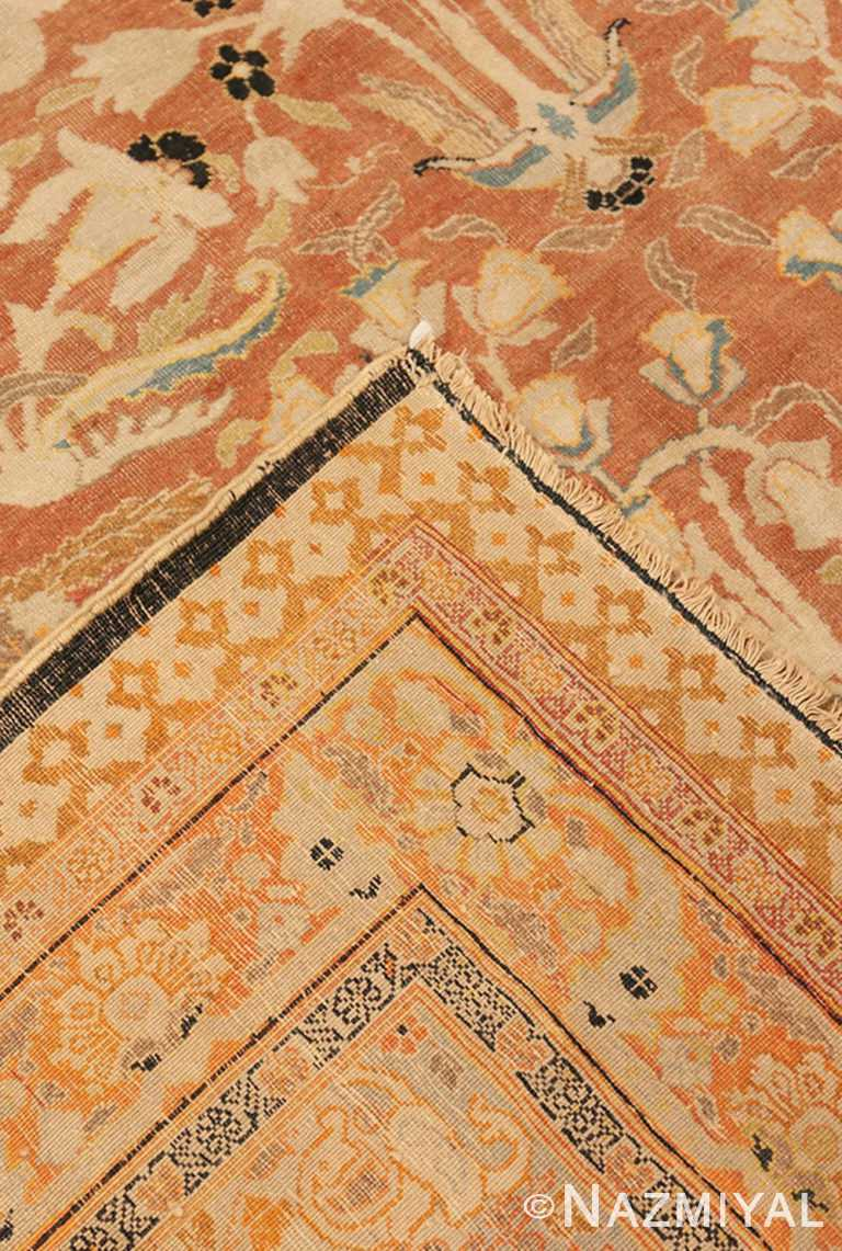 Close Up Weave Oversized antique Tabriz Haji Jalili Persian rug 49317 by Nazmiyal NYC