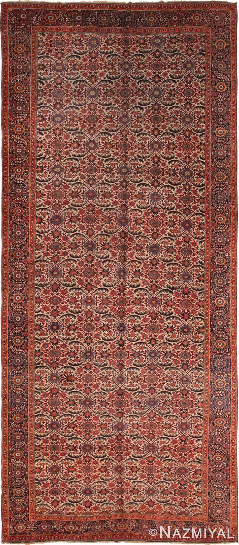 Antique Persian Bidjar Rug 70552 by Nazmiyal NYC