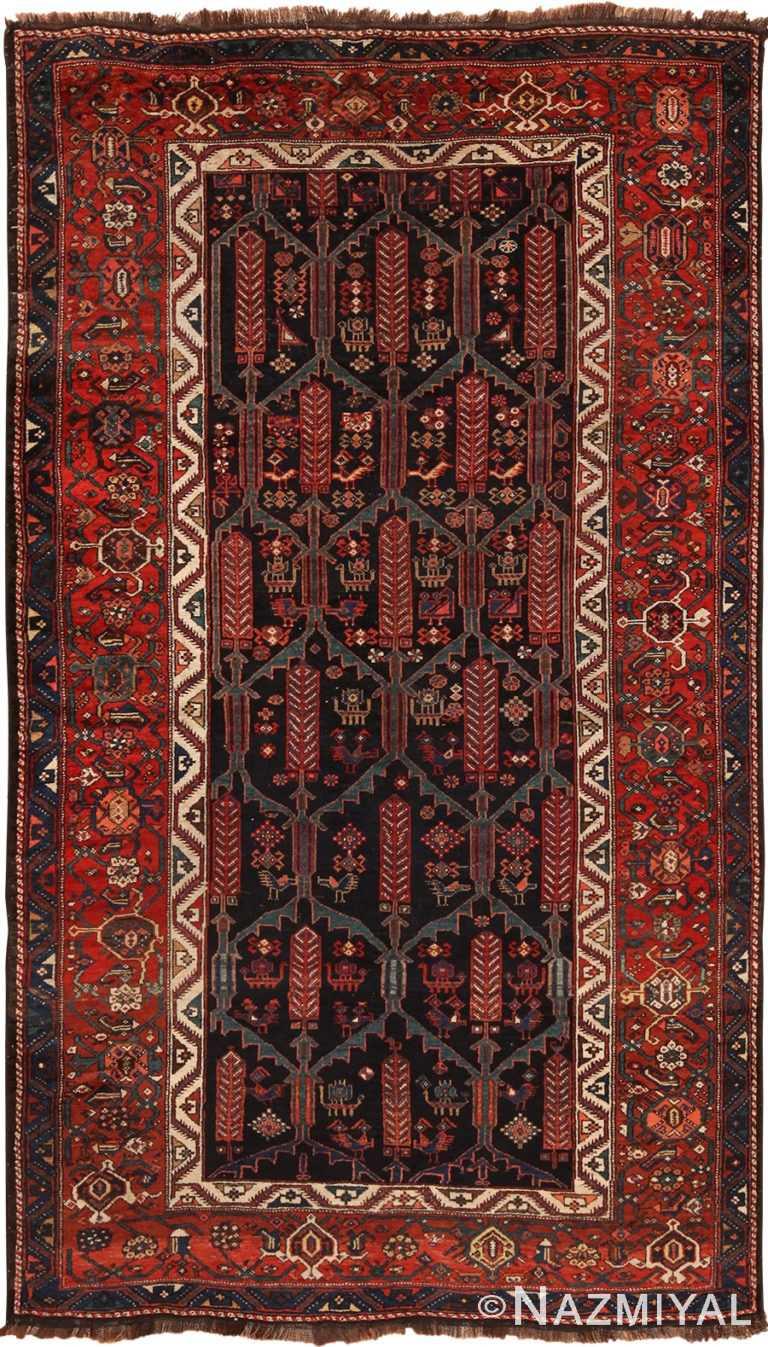 Antique Persian Kurdish Rug 70425 by Nazmiyal NYC