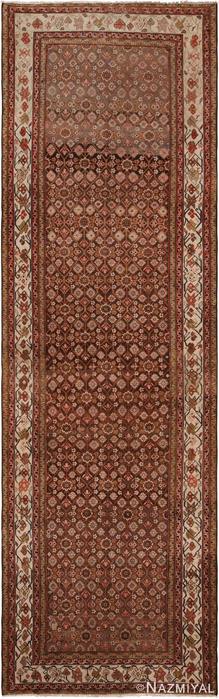 Antique Persian Malayer Runner Rug 70414 by Nazmiyal NYC