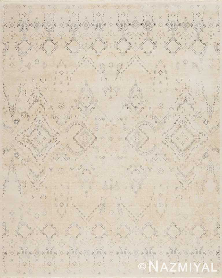 Beige Los Angeles Rug 92091019 by Nazmiyal NYC