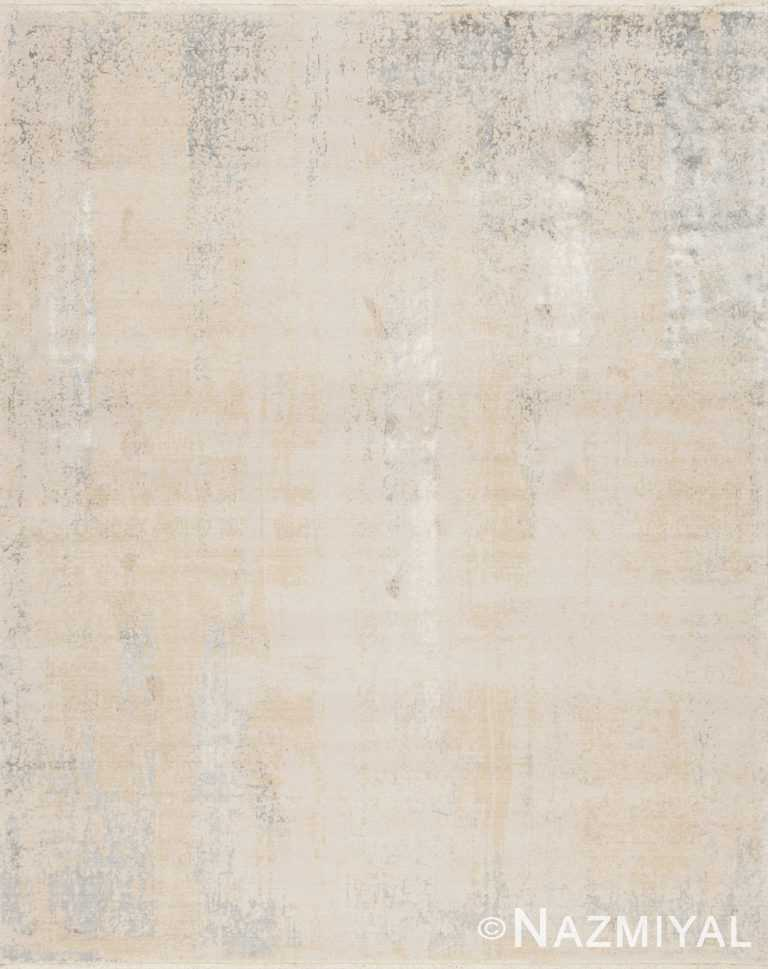 Cream Los Angeles Rug 92090695 by Nazmiyal NYC
