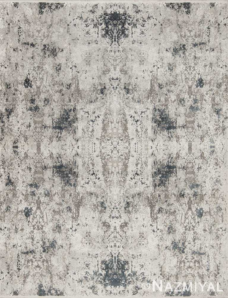 Geometric Dark Grey Boutique Rug 94068629 by Nazmiyal NYC