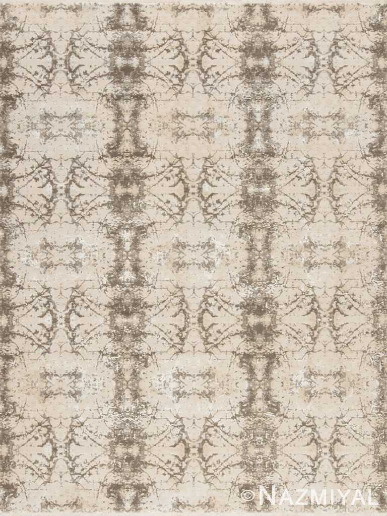 Geometric Ivory Los Angeles Rug 92091846 by Nazmiyal NYC