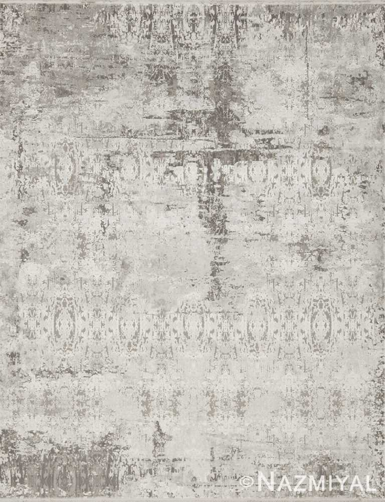 Grey Cream Boutique Rug 94083212 by Nazmiyal NYC