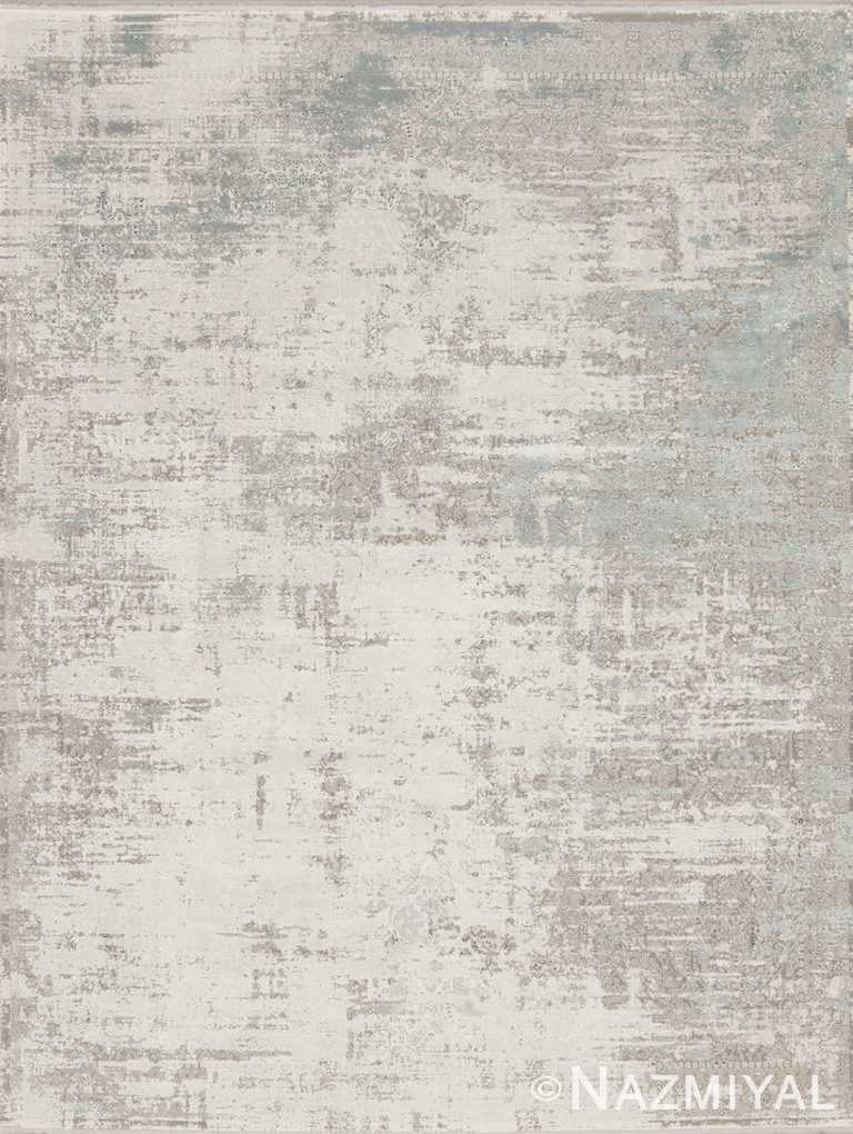 Light Blue Beige Boutique Rug 94082249 by Nazmiyal NYC