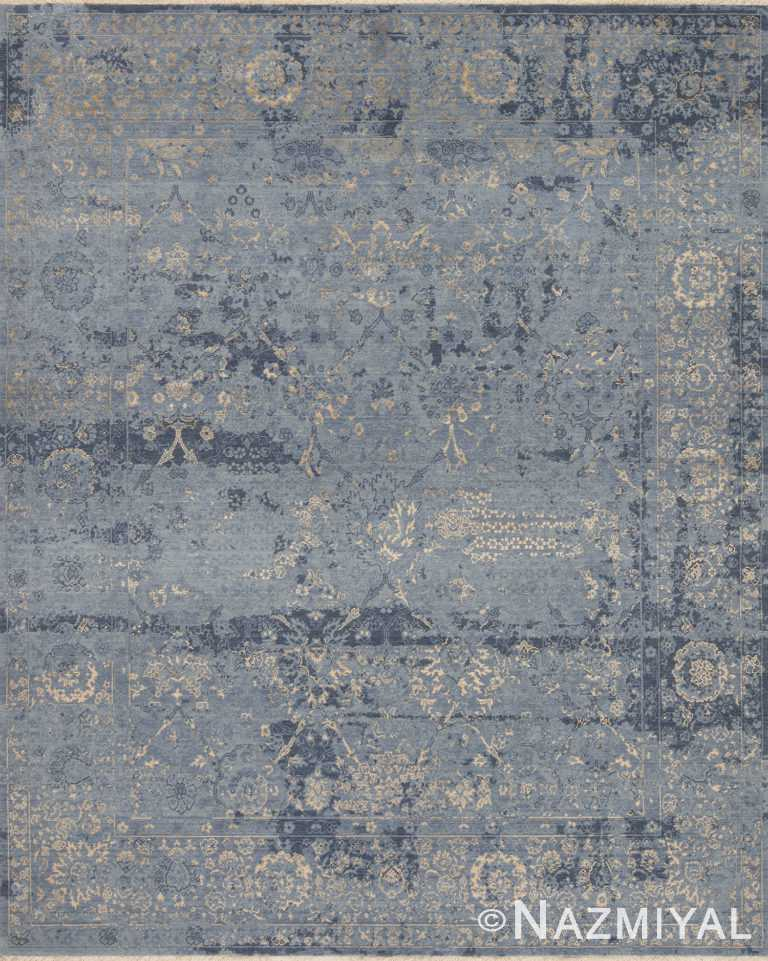 Marine Gold Beach House Rug 93111177 by Nazmiyal NYC