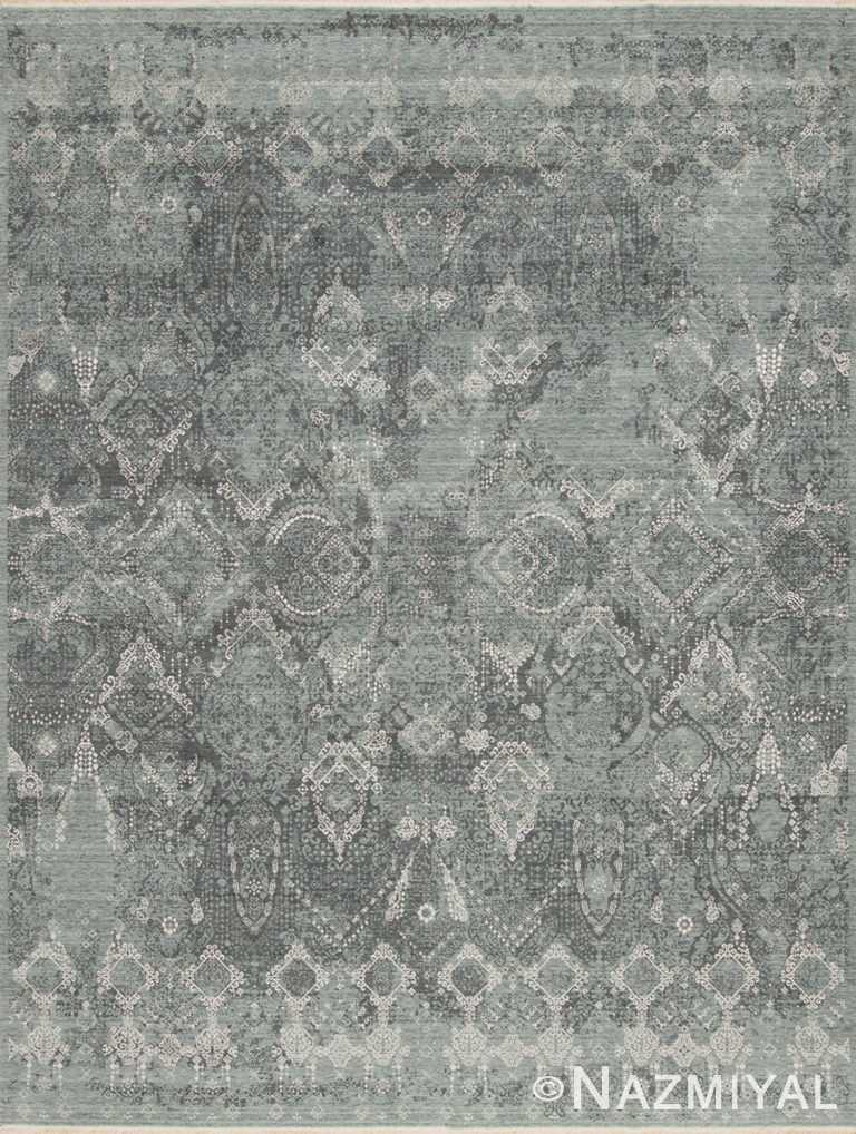 Soft Green Los Angeles Rug 92091423 by Nazmiyal NYC