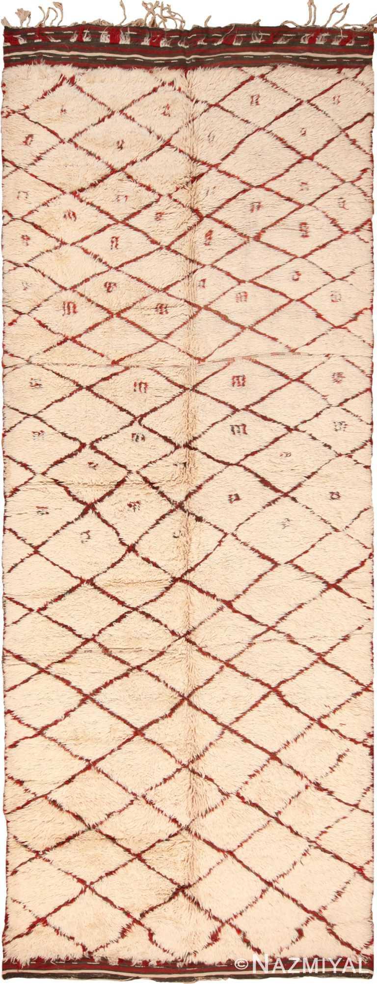 Vintage Moroccan Berber Rug 70527 by Nazmiyal NYC