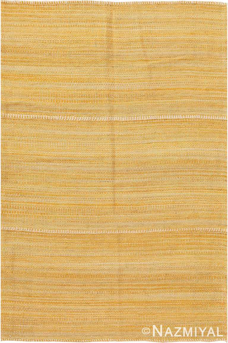 Modern Persian Flat Weave Rug 60100 by Nazmiyal NYC