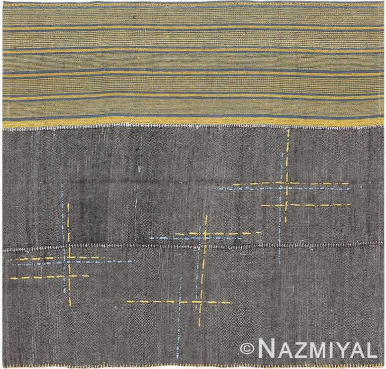 Small Modern Persian Kilim Rug 60088 by Nazmiyal