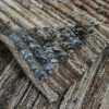 Weave Of Geometric Brown Modern Moroccan Style Afghan Runner Rug 60171 by Nazmiyal NYC
