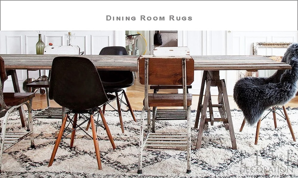 Dining Room Rugs Choose A Perfect, Rug Under Dining Room Table