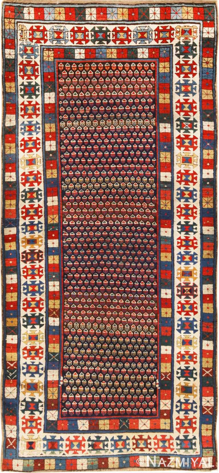 Antique Caucasian Talish Runner Rug 49934 by Nazmiyal NYC