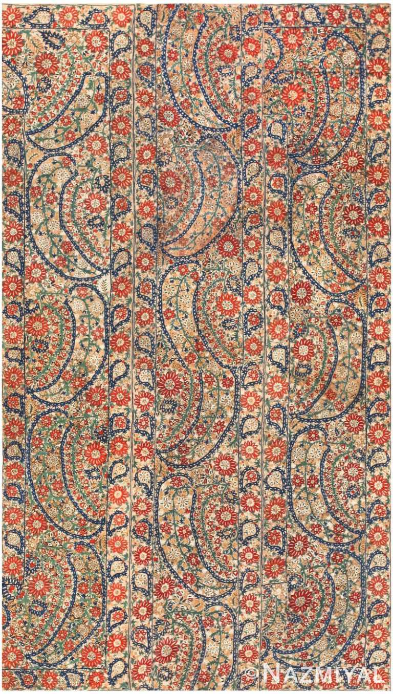 Antique Ottoman Embroidery 41482 by Nazmiyal NYC