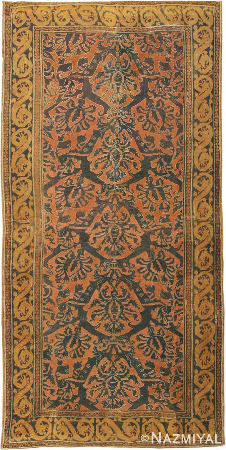 Antique 16th Century Alcaraz Oriental Rug #3288 by Nazmiyal Antique Rugs