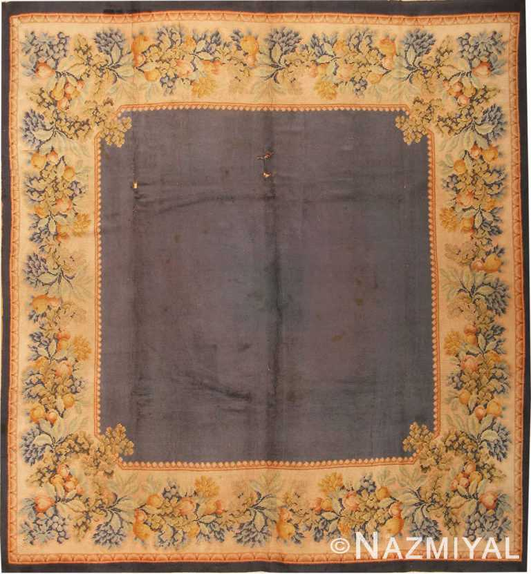 Antique Continental Rug #1849 by Nazmiyal Antique Rugs