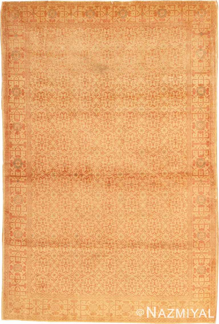 Antique Kashan Persian Rug #977 by Nazmiyal Antique Rugs
