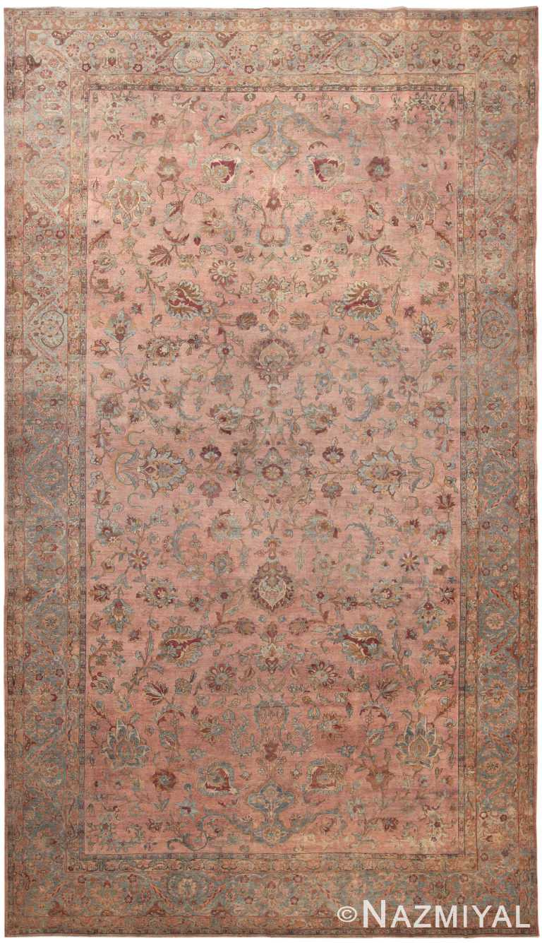 Large Antique Persian Kerman Rug 49926 by Nazmiyal NYC