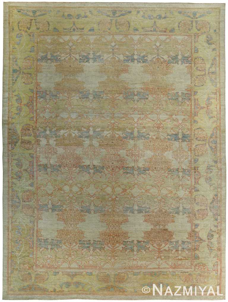 Arts and Crafts Decorative Modern Turkish Oushak Rug 60386 by Nazmiyal NYC