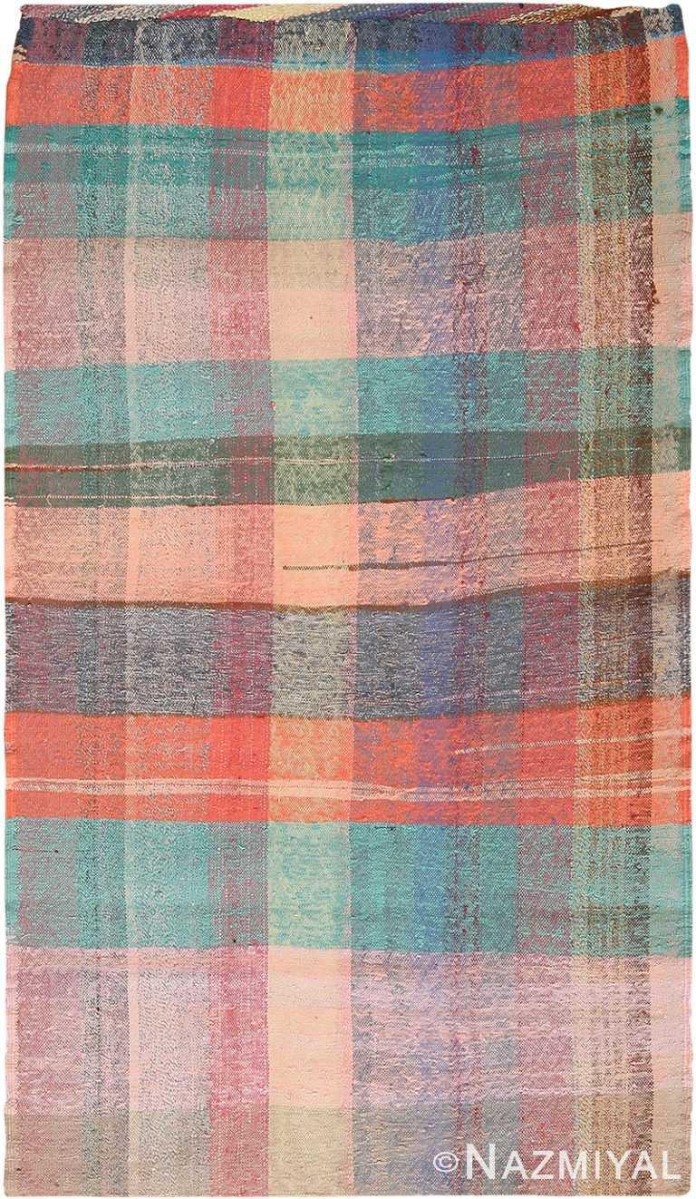 Colorful Vintage Persian Kilim Rug 60363 by Nazmiyal NYC