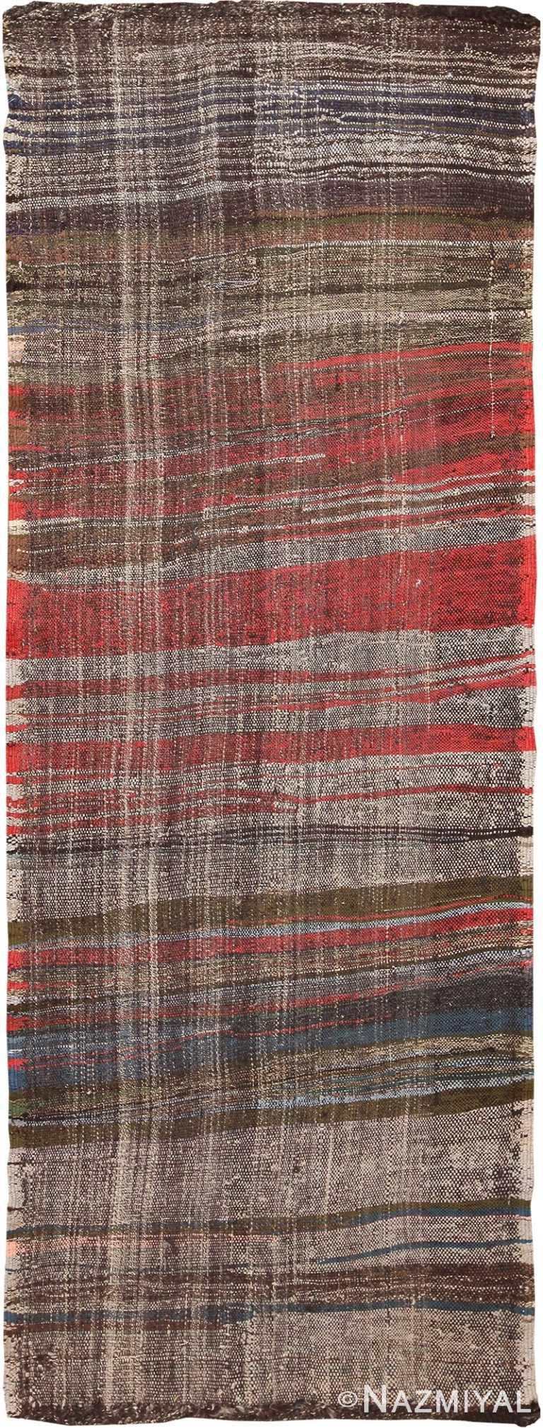 Vintage Persian Flat Weave Runner Rug 60366 by Nazmiyal NYC