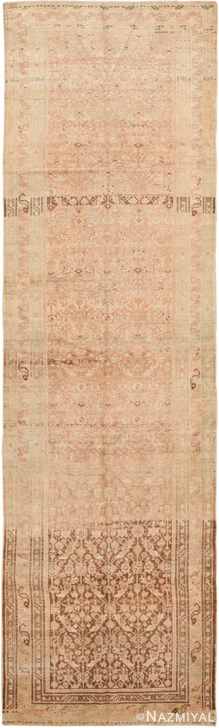 Antique Persian Malayer Runner Rug 48308 by Nazmiyal NYC