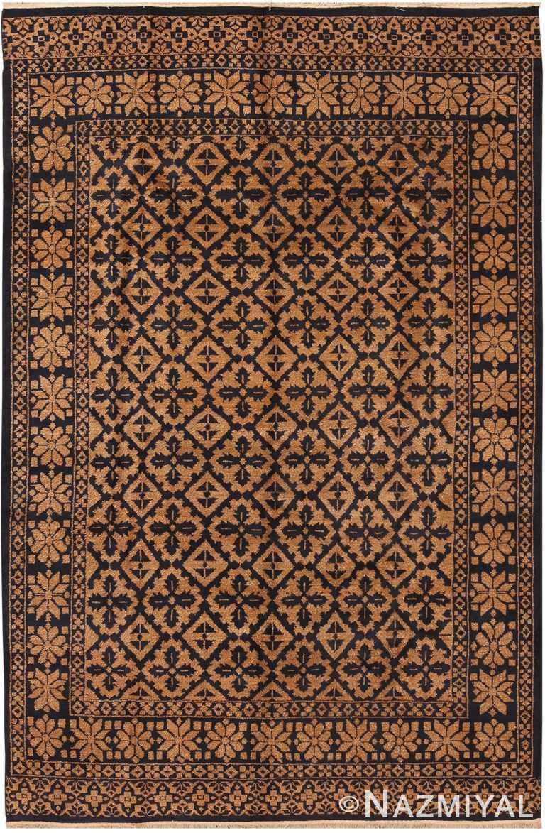 Geometric Modern Indian Rug 70667 by Nazmiyal NYC