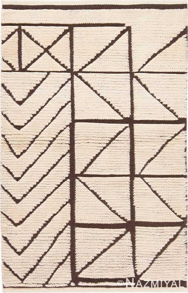 Modern Custom Area Rug Sample #50753 by Nazmiyal Antique Rugs