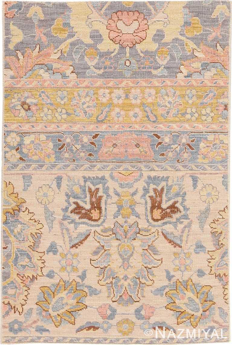 Modern Custom Indian Agra Rug Sample #60535 by Nazmiyal Antique Rugs