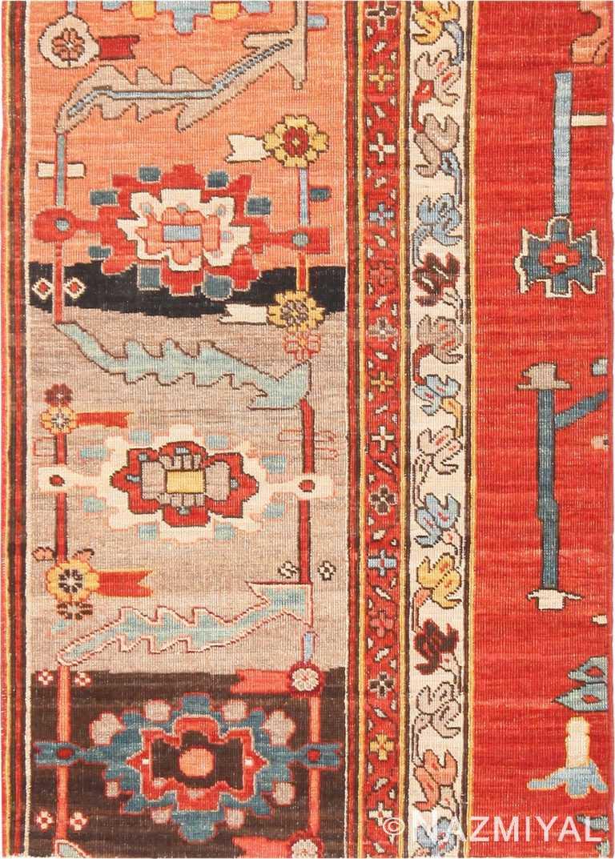 Modern Custom Made Persian Heriz Serapi Rug Sample #60546 by Nazmiyal Antique Rugs